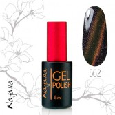 Гель-лак Магнит Наяда/Gel polish Nayada Magnet №562 9мл