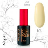 Гель-лак Наяда Пастель/Gel polish Nayada Рastel №610 8мл
