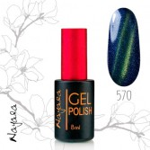 Гель-лак Магнит Наяда/Gel polish Nayada Magnet №570 9мл